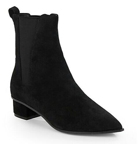 Ash Mira Block Suede Chelsea Boots @ Saks Off 5th