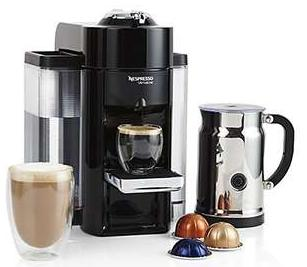 40% OffSelect Nespresso Machines @ Crate & Barrel