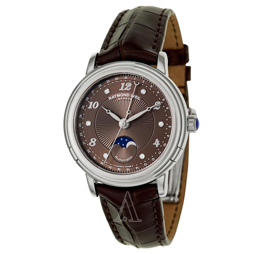 Raymond Weil Women's Maestro Automatic Moonphase Watch 2739-L2-05785
