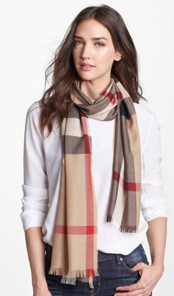 Up to 33% Off Burberry Scarf @ Nordstrom