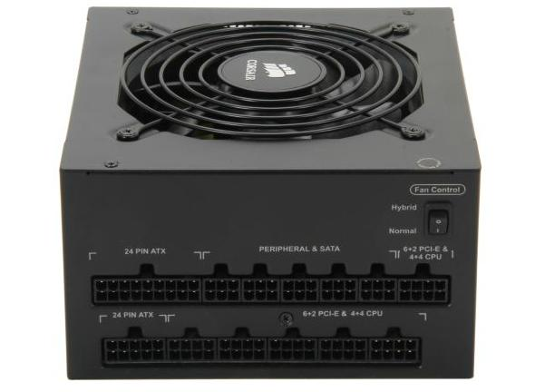 CORSAIR AX760 760W 80 PLUS PLATINUM Certified Full Modular Active PFC Power Supply