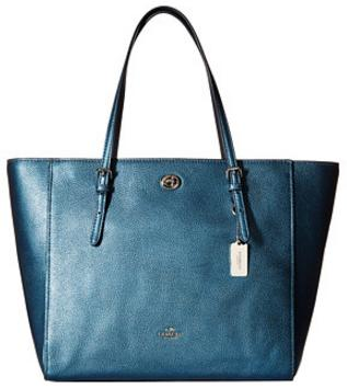 COACH Multi Turnlock Tote On Sale @