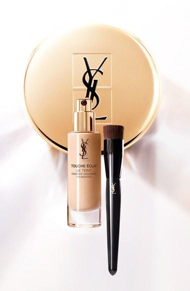 New Release YSL launched New Touche Éclat Le Teint Radiance Awakening Foundation and Brush