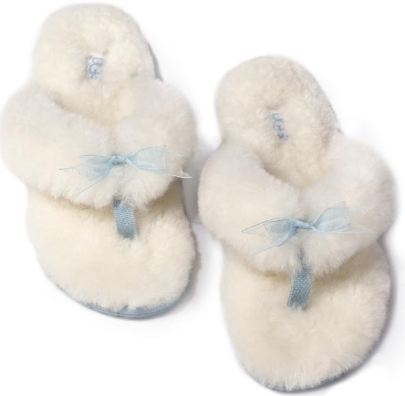 UGG Fluff Flip Flop I Do Genuine Shearling Sandal