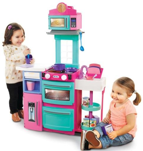 Little Tikes Cook 'n Store Kitchen Playset - Pink @ Amazon