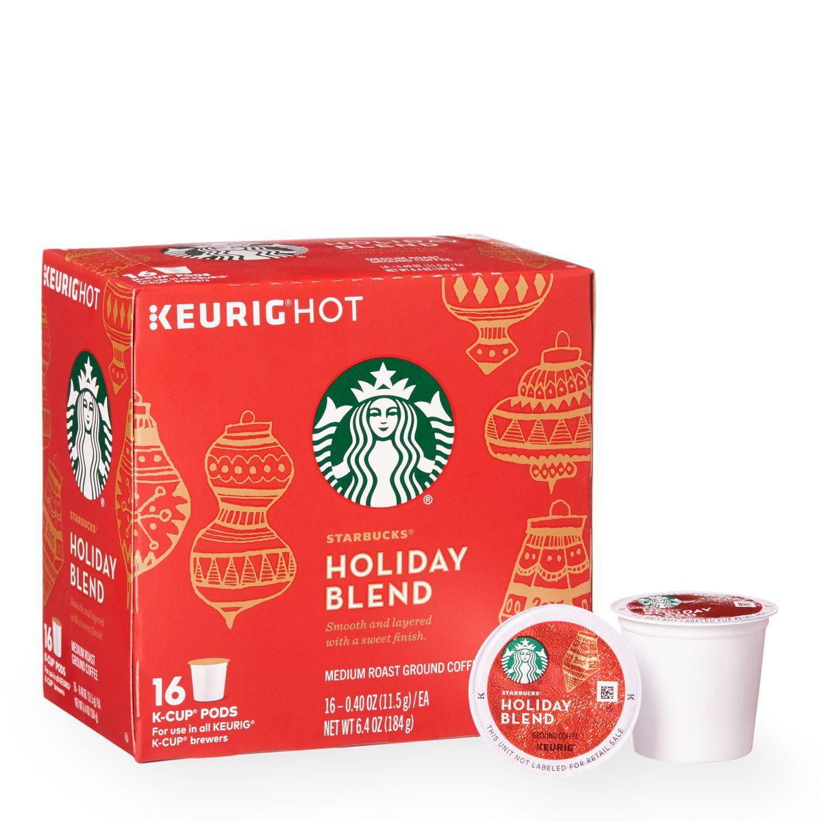 Buy One Get One Free Starbucks Holiday Blend K-Cup Packs