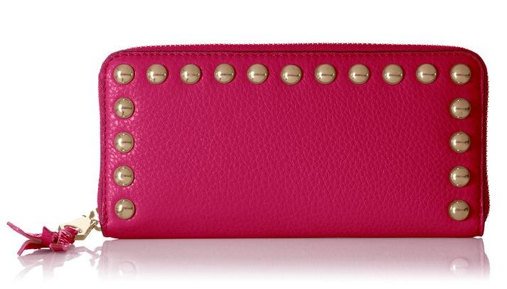 Rebecca Minkoff Ava Zip with Studs Gift Boxed Wallet