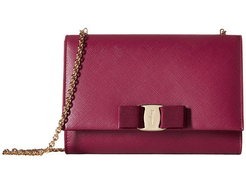 Salvatore Ferragamo Miss Vara Bow Clip Crossbody Bag