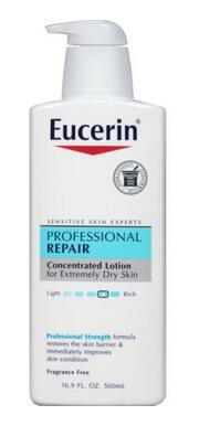 Eucerin Professional Repair Body Lotion, 16.9 Ounce