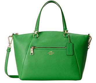 COACH Pebbled Prairie Satchel @ 6PM.com
