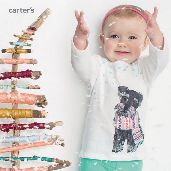 Up to 70% Off More the Merrier Sale @ Carter's
