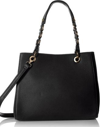 MG Collection Structured Shoulder Bag