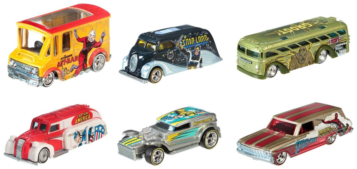 Hot Wheels Pop Culture Collection Marvel Die-Cast Vehicle