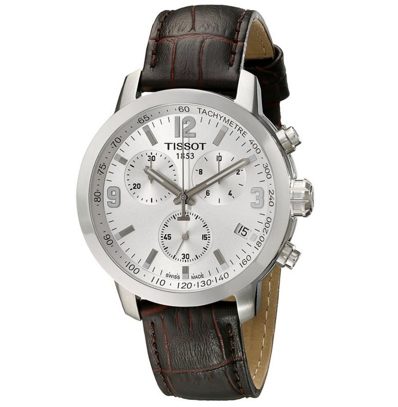 Lowest price! Tissot Men's PRC 200 Chronograph Stainless Steel Watch