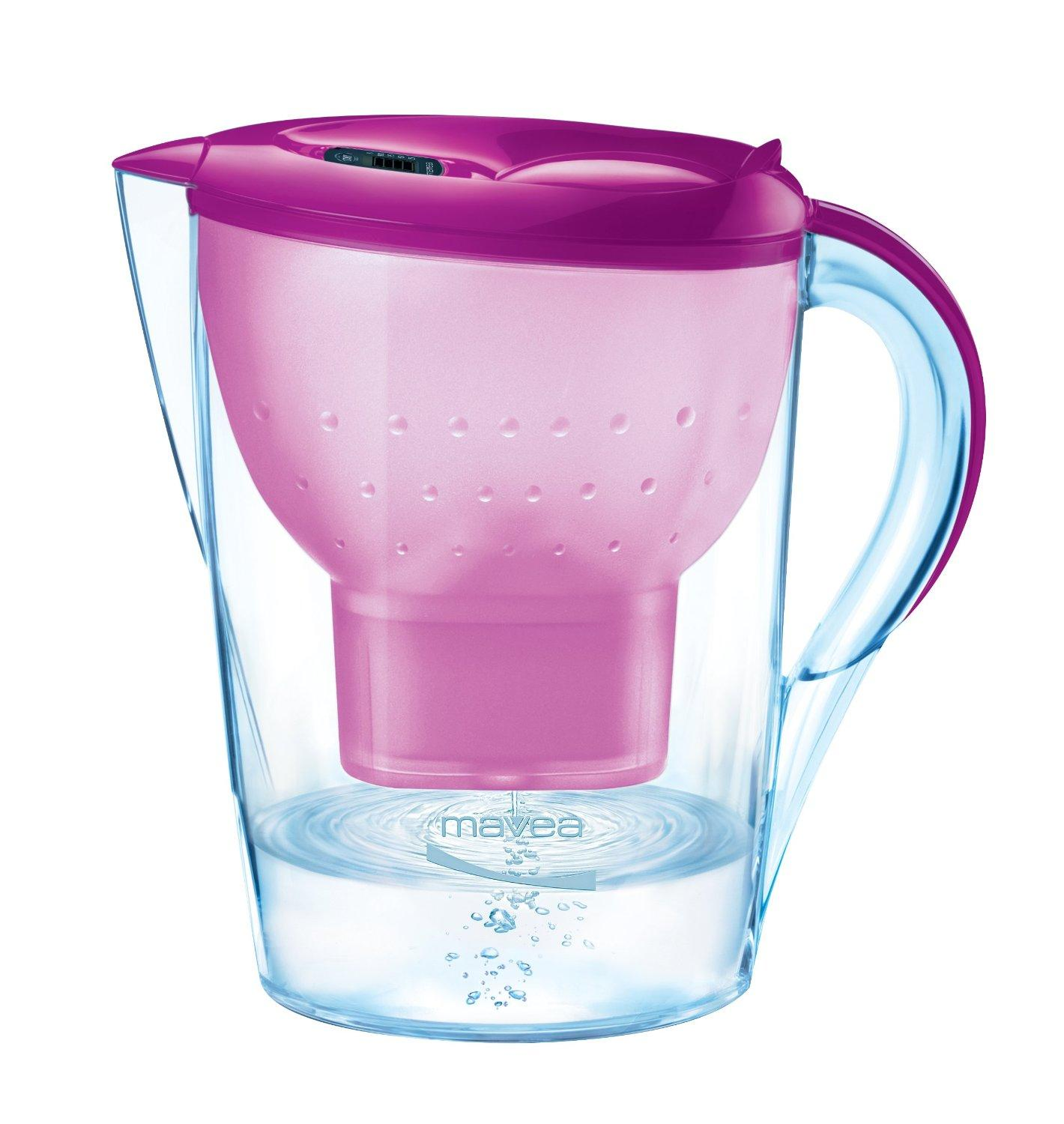 $17.78 MAVEA 1009652 Marella XL 8-Cup Water Filtration Pitcher