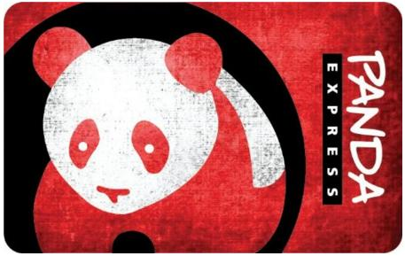$25.00 Panda Express Gift Cards - E-mail Delivery