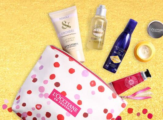 Free Dazzling VIP Gift with any $85 purchase @ L'Occitane