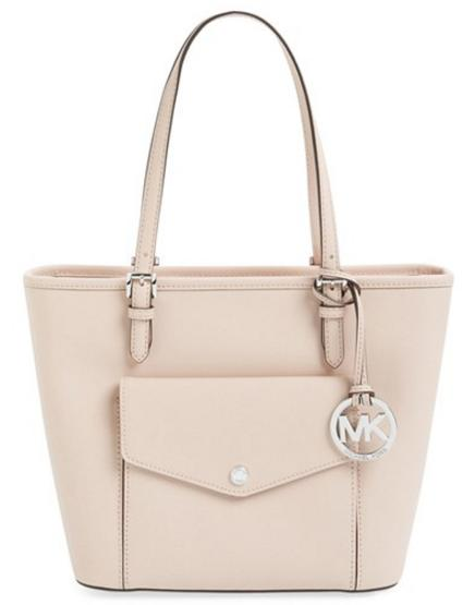MICHAEL Michael Kors 'Medium Jet Set' Pocket Tote