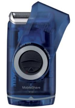 $14.39 BRAUN POCKET SHAVER,2xAA,CAP - WASHABLE, M60B