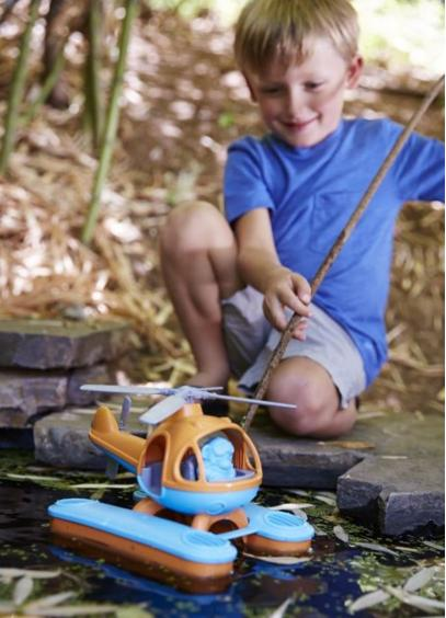 Green Toys Seacopter, Orange/Blue @ Amazon