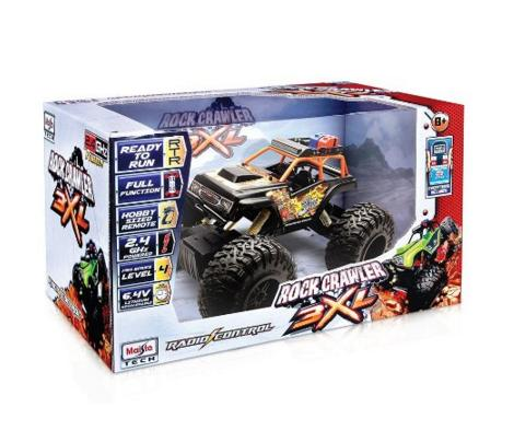 Maisto R/C Rock Crawler 3XL Radio Control Vehicle (Colors May Vary)