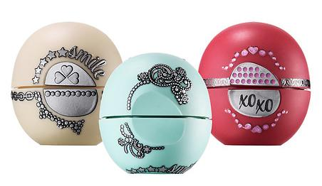 $6.92 eos Limited Edition Holiday Gift 2015 Lip Balm with a Dazzling Do-it-Yourself Twist 3 Pack