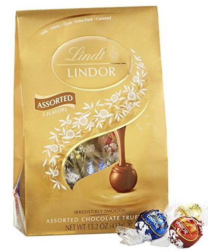 Lindor Lindt Chocolate Truffles, Assorted, 15.2 Ounce