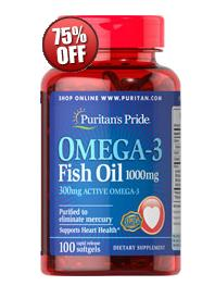 For $3.12 + Up to 15% off Omega-3 Fish Oil 1000 mg