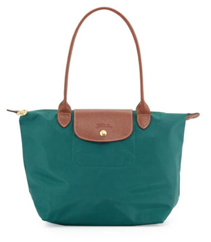 Longchamp Le Pliage Medium Shoulder Tote Bag, Cedar