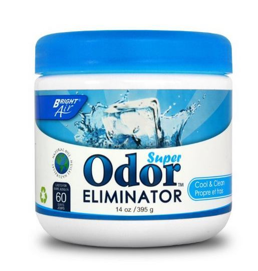 BRIGHT Air Odor Eliminator - Cool and Clean , 14 Ounce Jar
