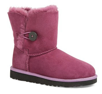 $59.96 UGG Bailey Button Kids Boot