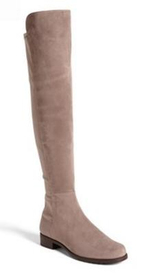 Stuart Weitzman '5050' Over the Knee Suede Boot
