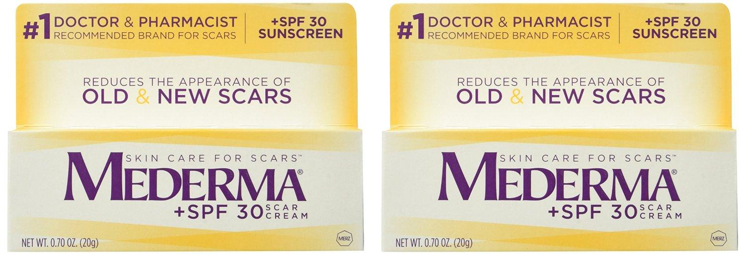 Mederma Scar Cream Plus with SPF 30 (20g) 2 Count