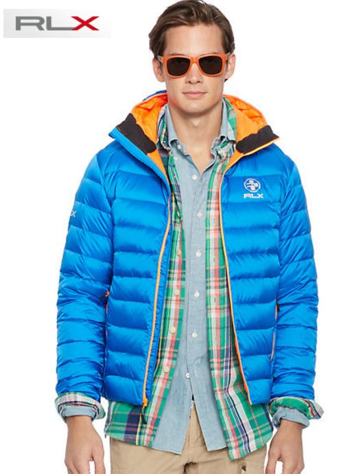 Ralph Lauren Water-Resistant Men's Down Jacket