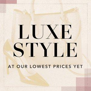 Up to 60% Off The Luxe Warehouse On Sale @ Rue La La