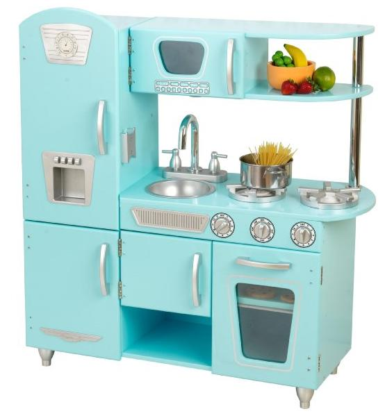 KidKraft Vintage Kitchen in Blue @ Amazon