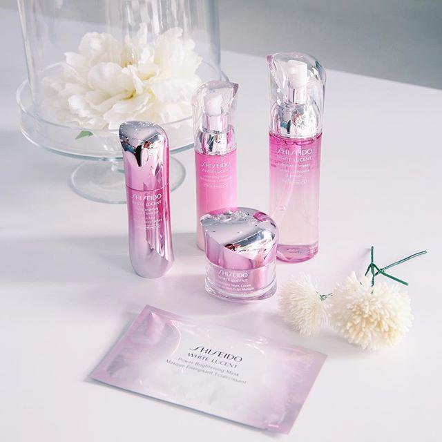 New Release Shiseido launched New WHITE LUCENT collection