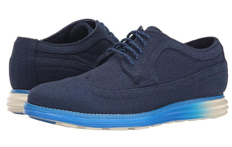Cole Haan Men's LunarGrand Long Wingtip Oxford