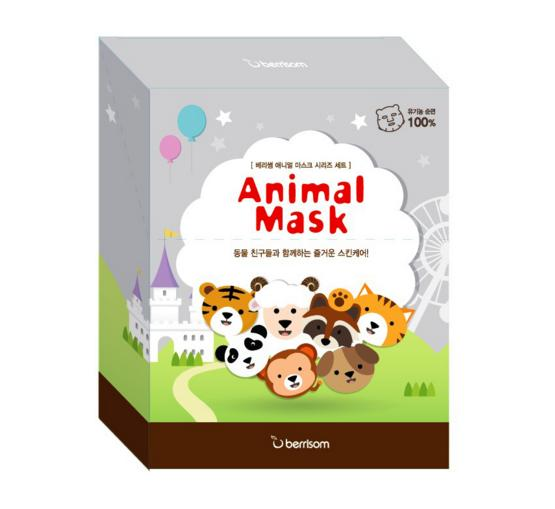 Animal Mask Set - 7pcs @ MEMEBOX