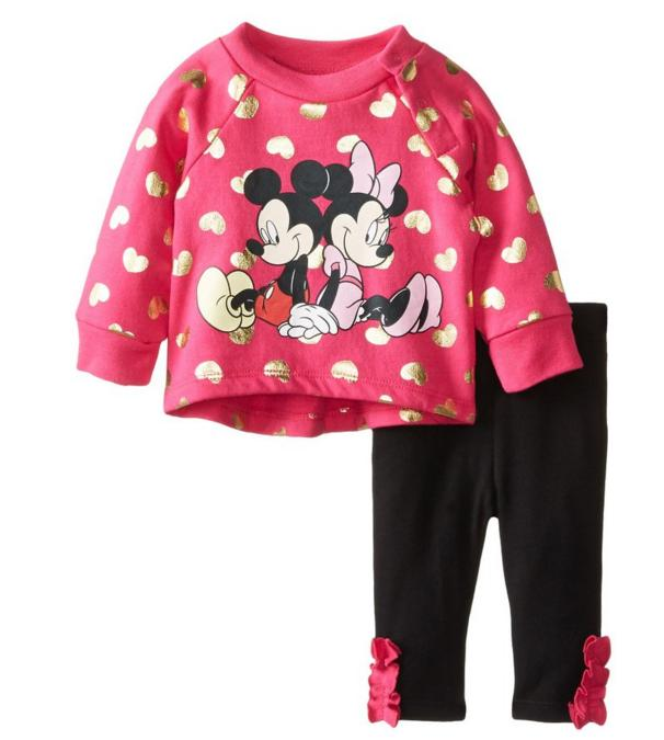 From $9.26 Disney Baby Girls' Fleece Set