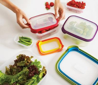 Joseph Joseph 12-Piece Compact Food Storage Container Set, Nest 12