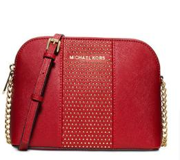 MICHAEL Michael Kors Cindy Stud Large Dome Crossbody @ macys