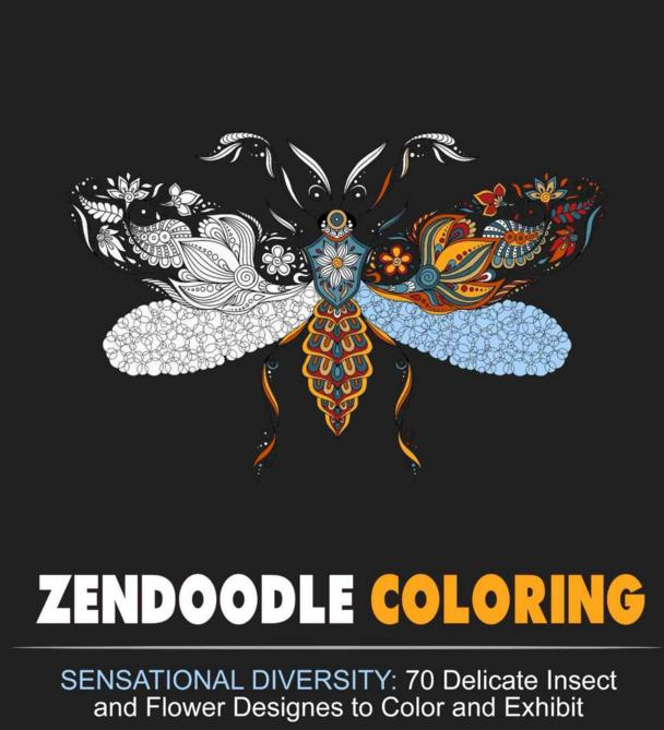 Free Zendoodle Coloring Books for Kindle