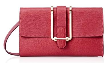 Chloé Bronte Flat Shoulder Bag, Red On Sale @ MYHABIT