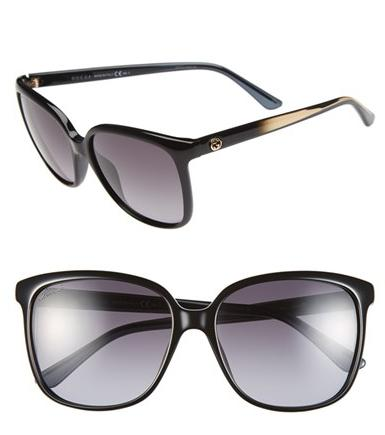 Gucci 57mm Retro Sunglasses @ Nordstrom