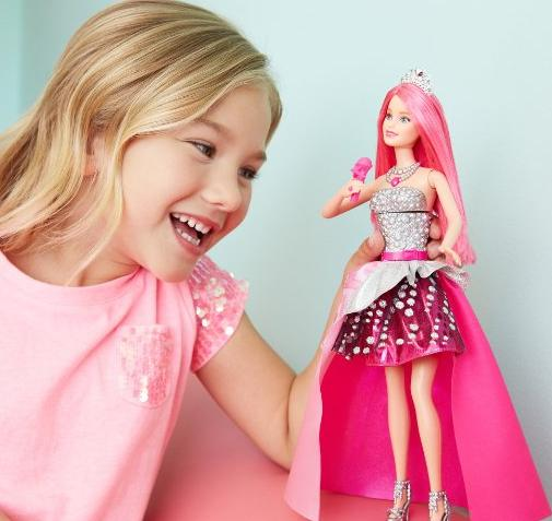 Barbie in Rock 'N Royals Singing Courtney Doll @ Amazon