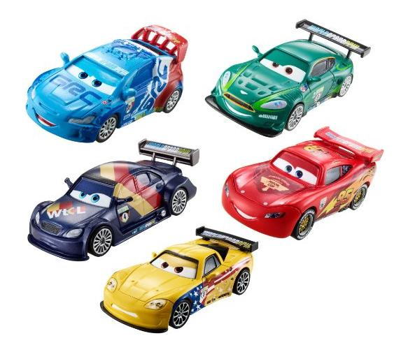 Disney/Pixar Cars Piston Cup Die-Cast Vehicle (5-Pack) @ Amazon