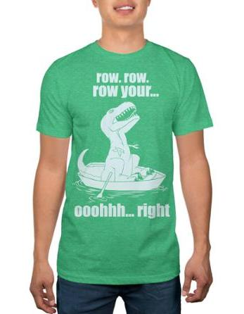 $3 DINO TROUBLES MEN'S GRAPHIC TEE