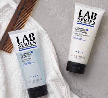 $10 Off with Shampoo & Conditioner Purchase @ Lab Series For Men