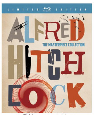 $97.99 Alfred Hitchcock: The Masterpiece Collection (Limited Edition) [Blu-ray] (2012)